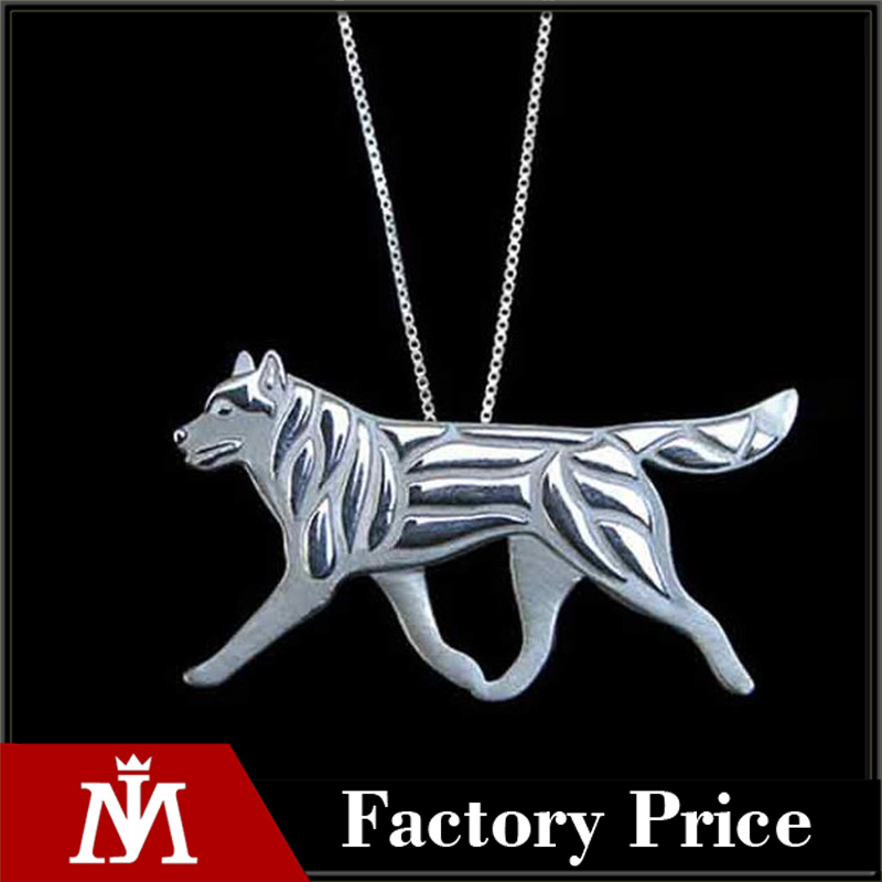 Doberman Jewelry Dog Gold Color Pendant Animal Necklaces For Pet Lovers Tiny Women's Gift Pet Jewelry