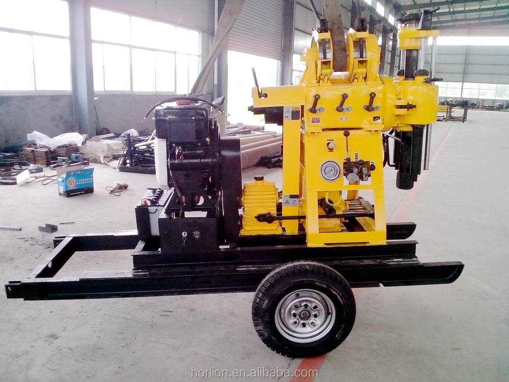 Cheap price hydraulic portable 200m water well drilling rig machine for sale