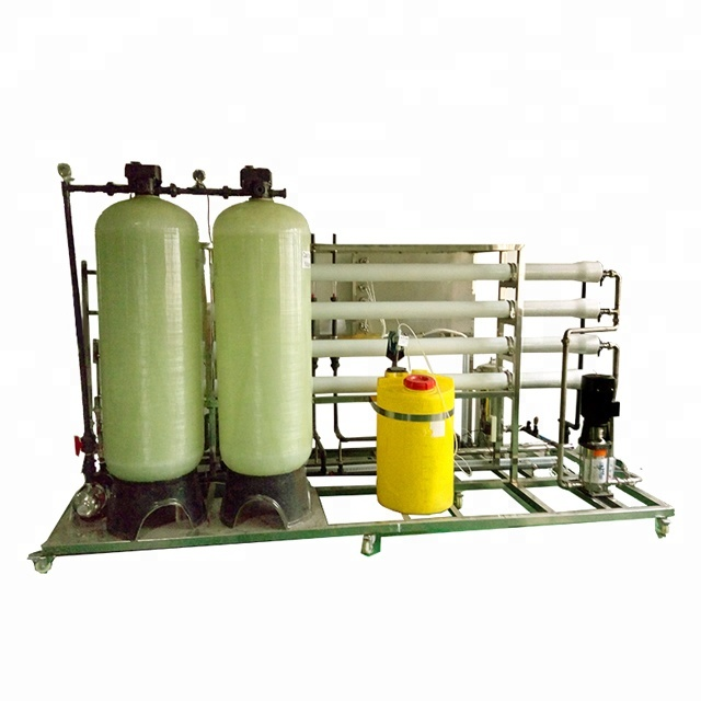 Brackish large scale industrial commercial RO reverse osmosis water purification system