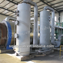 Recycled rubber to fuel oil machine / waste tire recycling equipment
