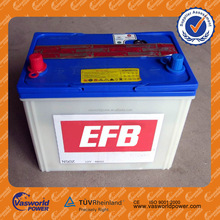 Export High quality 12V N60 60AH Sealed dry charged lead acid car battery