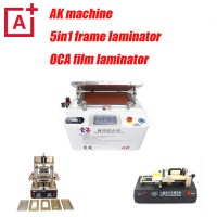 Full set vacuum laminating machine for lcd refurbish 5in1frame machine+oca laminator with bubble remover lcd repair machine