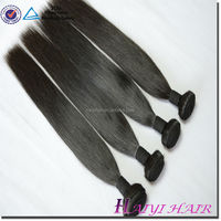 One Donor Virgin Hair Weft Large Stock grey human hair weaving