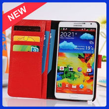 For Galaxy Note3 Case Hot Selling Wallet Case for Samsung Galaxy Note 3 N9000