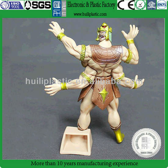custom plastic articulated toy figure,custom warriors plastic articulated toy figure