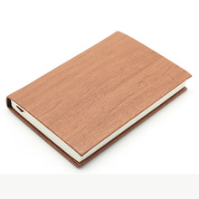 2017 notebook leather cover diary wood cover notebook