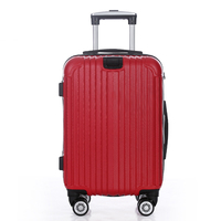 Factory hot sale ABS 3pcs travel luggage set ZL-ABS106