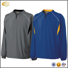 Ecoach 2016 Custom Logo Breathable Long Sleeve Tre-color Design 100% Polyester High School Uniform