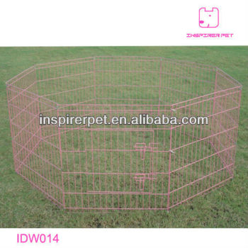 Wire Pet Pen with 8 Panels