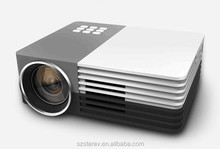 HD Projector GM50 with HDMI USB Electric Zoom Connect with Power bank