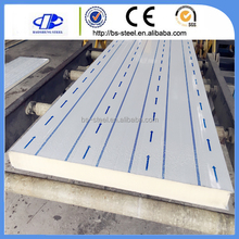 Heat Insulation fire resistant sound absorbing china pu sandwich panel price