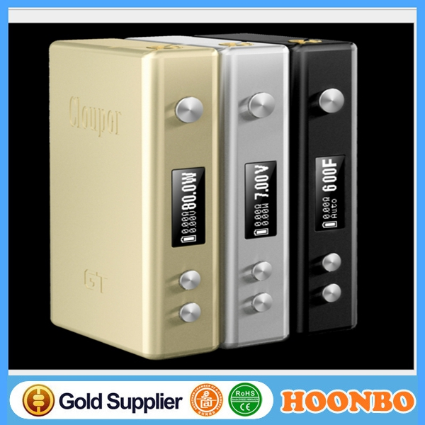 100% Original Cloupor Box Mechanical Mod Cloupor GT 80W TC Mod In Stock with security code