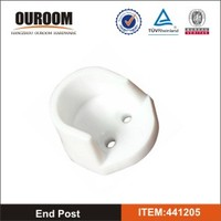 Oval Hanging Rail End Supports