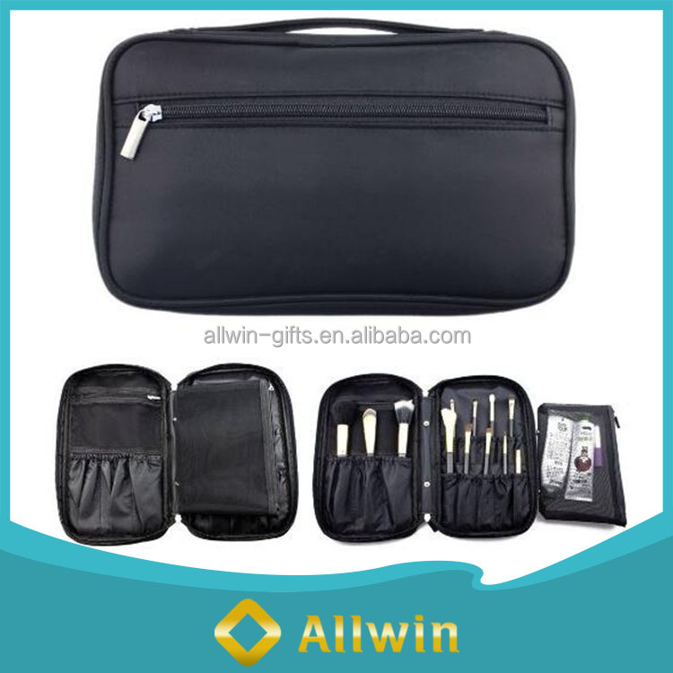 High Quality Zipper Closure Multi-functional Travel Makeup Case