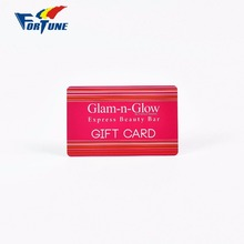 Factory price & custom stylish new style design pvc gift card with great material