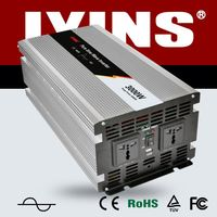 3000va led single-phase CE&RoHs hot sale 3000w power inverter with charger