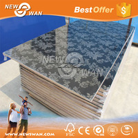 Embossed Color UV MDF Board / High Glossy Acrylic laminated MDF