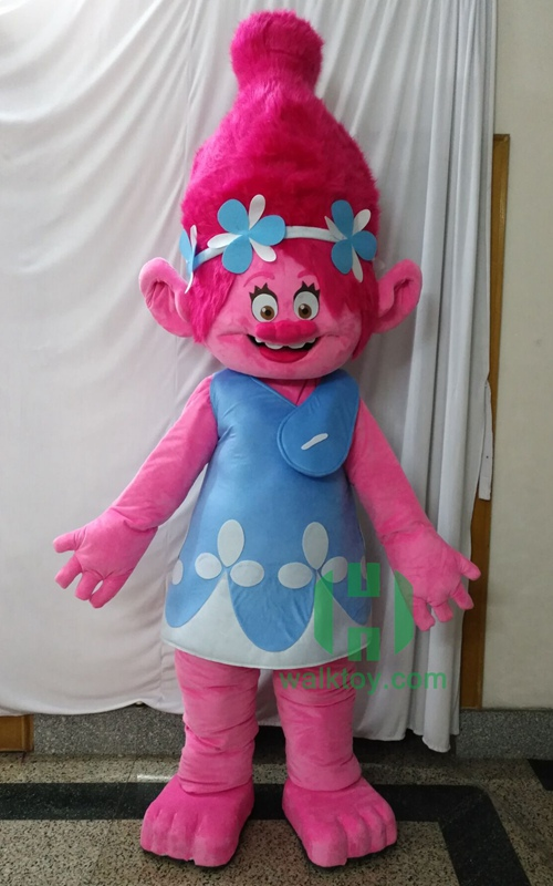 HI Trolls anime cosplay costume custom cartoon character mascot costumes for sale