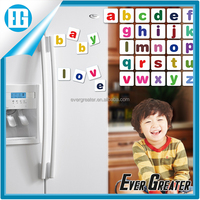 magnetic sticker alphabet fridge magnet puzzle,hot sale sale fridge magnets letters for child