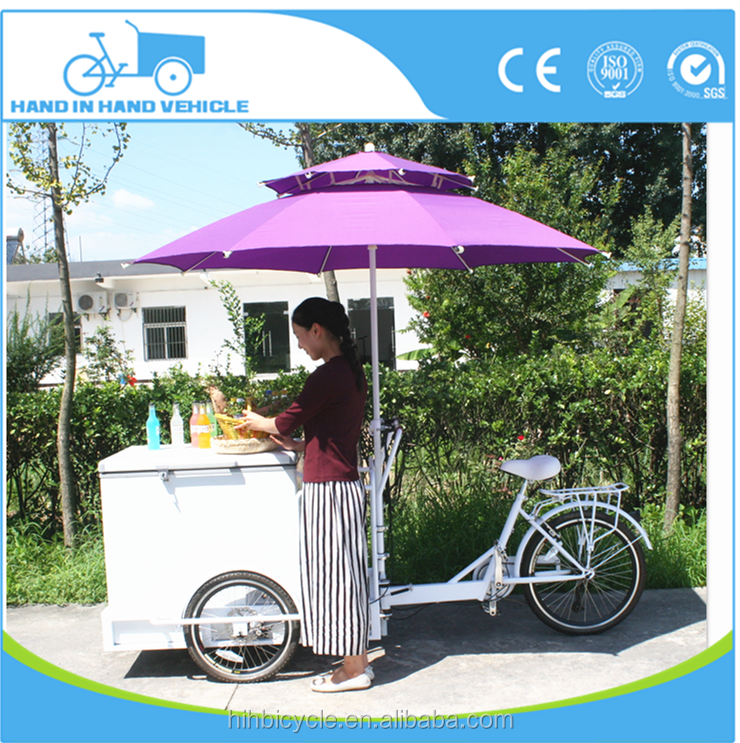 electric cooler beer cart for factory direct sale ice cream tricycle