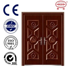 Cold rolled Commercial double Fancy steel door
