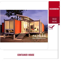 luxury living modern prefabricated container house furnished