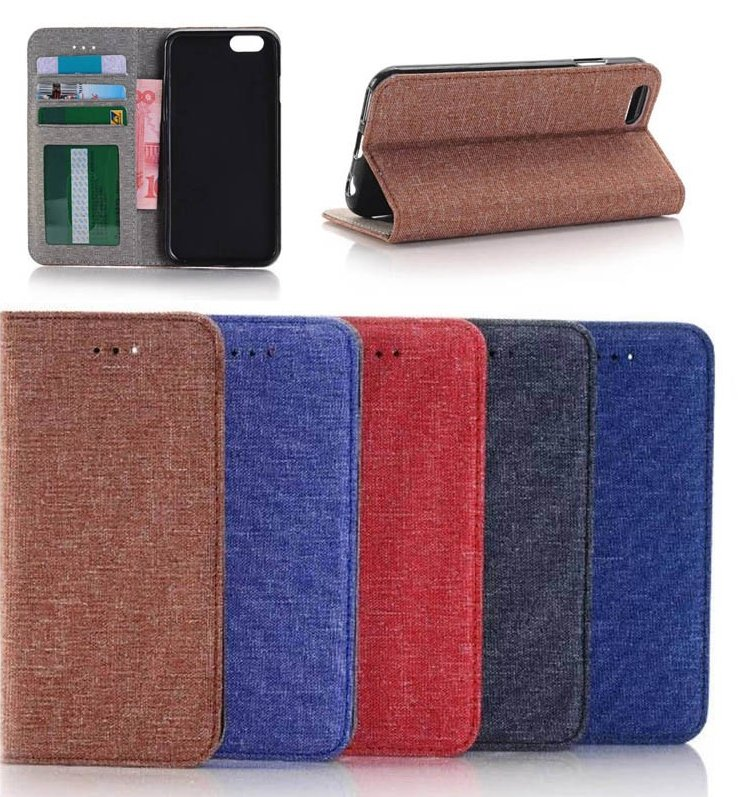 wholesale jeans leather back cover Phone case for iphone 7, leather case for iphone 7