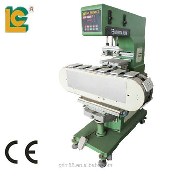 Two Colors Lunch Box Pad Printing machine