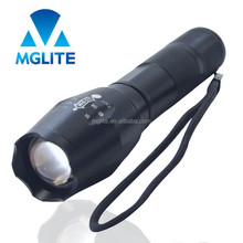 Factory Log Printed Aluminum Handheld Zooming 3watt led Rechargeable flash lights super high lumen
