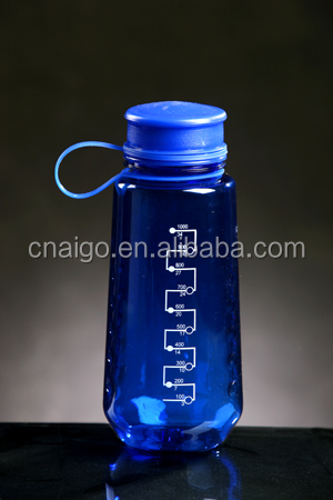 Plastic Unbreakable Portable PC Water Bottle