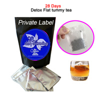 TEATOX Remove calories tea 14 day/28 days weight loss, flat tummy DETOX tea Private Label or OEM