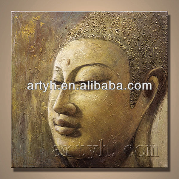 Hot selling Abstract Buddha Oil Painting