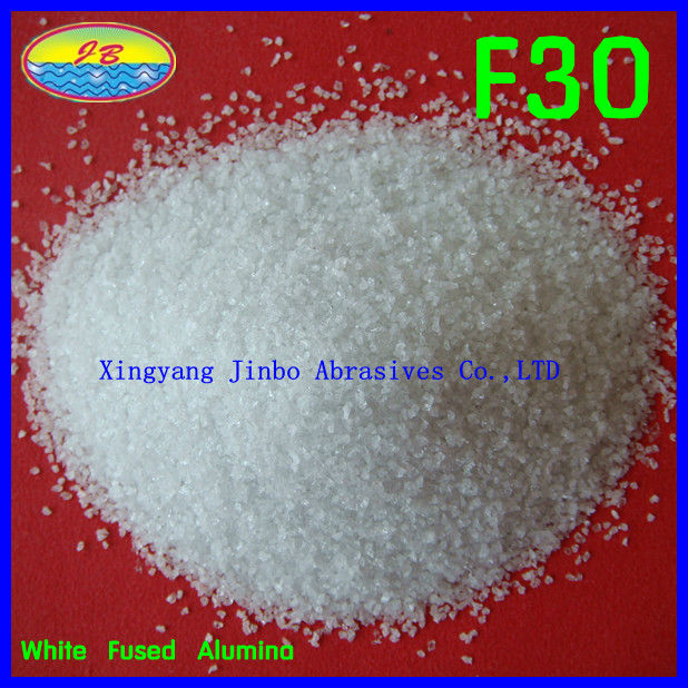 Fused White Aluminium Oxide for abrasives media