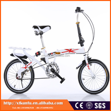 Popular Style High Quality Fully Assembled folding 3 wheel bike