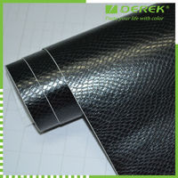 With Removable Glue, High Quality Snake Skin Car Body Sticker
