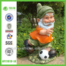Football Craft Garden Resin Gnome Sport Articles