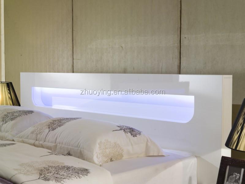 2016 Bedroom Furniture Design Bed With Led Decorating Bedroom Set View Bedroom Design Zoe