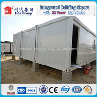 Low price economic easy prefab office temporary build modular house in Africa