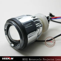 2013 New Double Angel Eyes Motorcycle Headlights