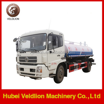 Hot 15000l 20tons water tank truck, potable water tank truck