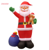 Wholesale Christmas Decorations Inflatable Santa Holding Xmas Gifts Holiday Decoration