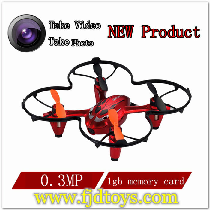 Made in china model 2.4G 4 Channel RC Quadcopter Christmas Gift With HD Camera LED lights