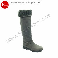 Wholesale China Trade Durable Top Quality Lace Up Thigh High Boots