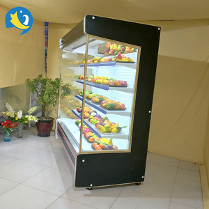 New design commerical upright multi-deck cooler for drinks