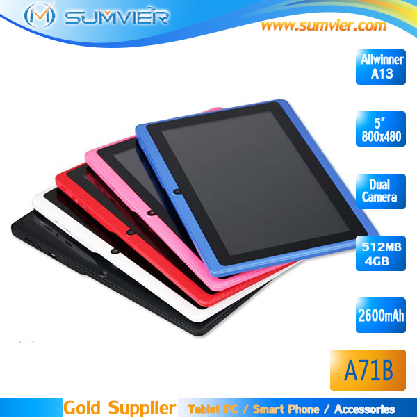 7 inch android 4.2 OS RAM 512MB ROM 4GB android tablet pc Q88