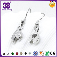 Extra Long Post Dangle Hanging Stud Earrings