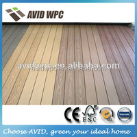 great qulaity but low price small prefab houses wood plastic composite WPC decking flooring panels
