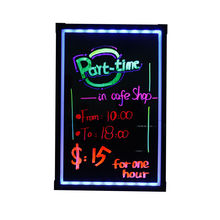 New Inventions Led Advertising Light Board Make black Led Dry Erase Board