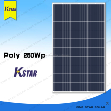 Top quality Kingstar chinese solar panels 250 watt for sale