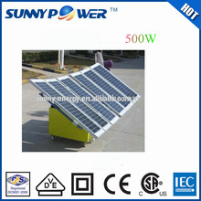 solar energy 500W solar power system for home use solar pv mounting system for ground installation manufacturing machine